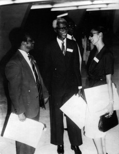 My parents, Berthan Macaulay Q.C. and Margarette May Macaulay, LLB at the Commonwealth Law Conference, Lagos, Nigeria, 1980.